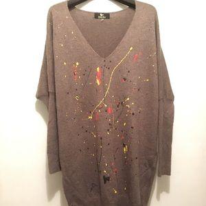 Tops - Splatter Paint Tunic